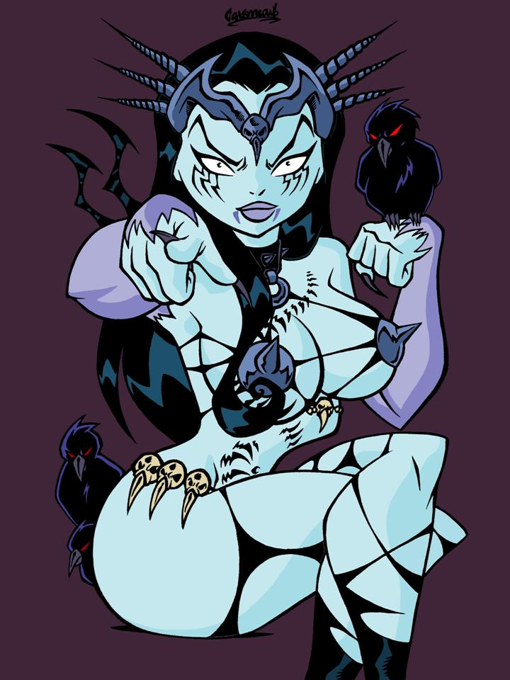 tarot nudity the witch rose of black Electric chuchu breath of the wild
