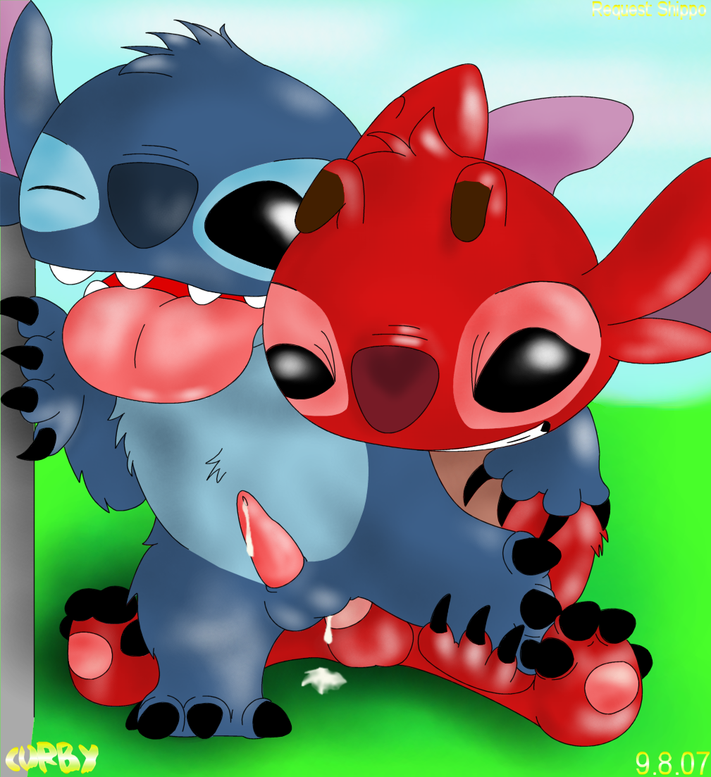 stitch and naked lilo lilo How old is sticks the badger