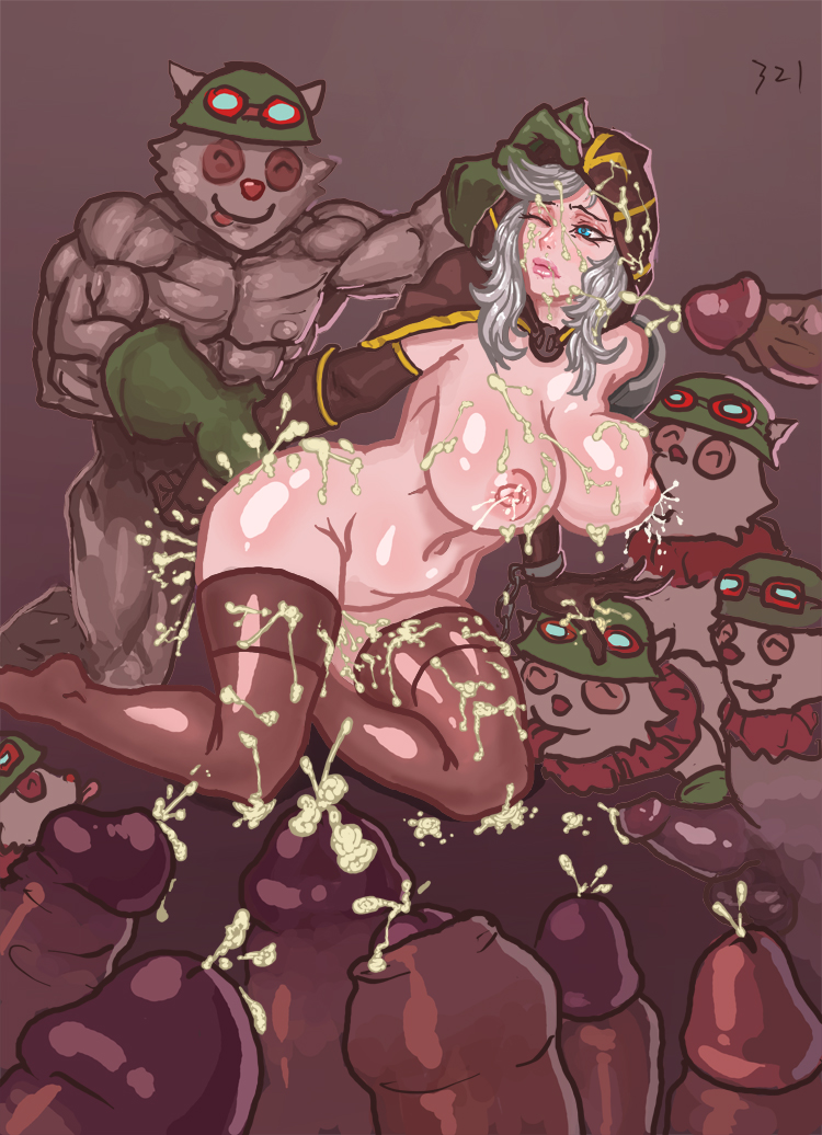 ashe naked of league legends Scooby doo daphne tied up