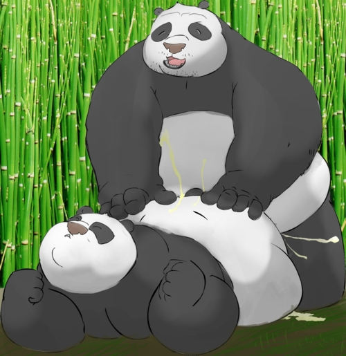 sex fu comic panda kung You can t escape the heroine