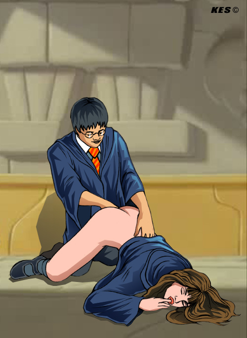 nude potter harry from hermione The seven deadly sins diane