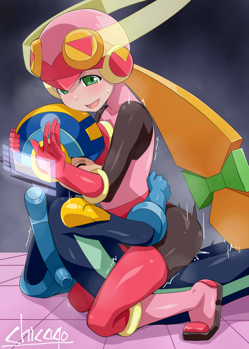 megaman exe roll and exe Trials in tainted space akane