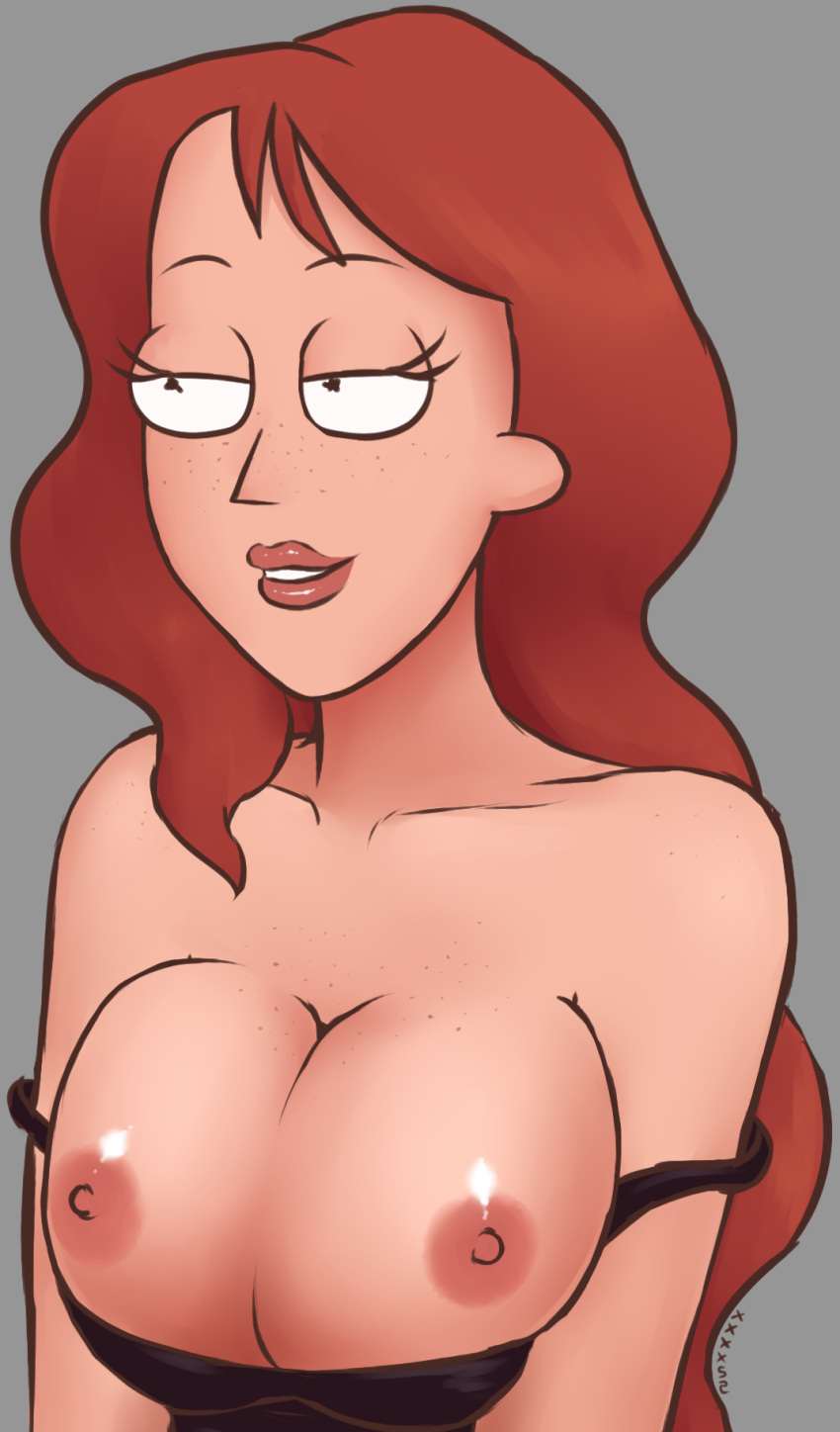 morty naked and summer rick Emis-night-at-freddys