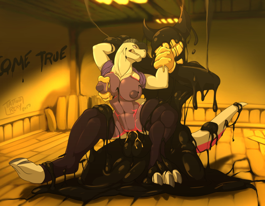 alice ink and hentai the machine bendy Nanomachines son they harden in response to physical trauma