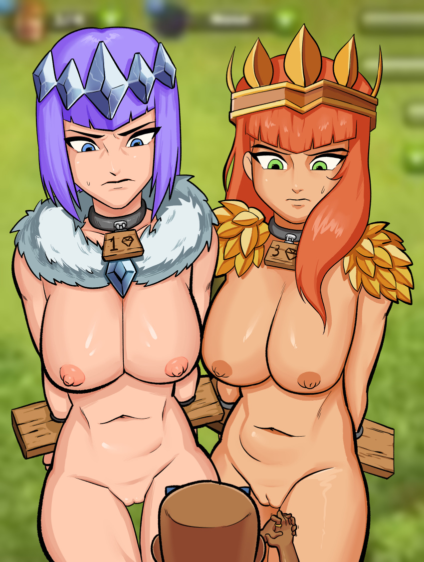 clash clans hentai witch of Billy's dad billy and mandy