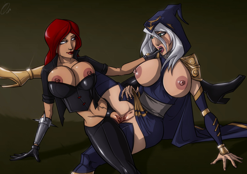 legends naked ashe of league Vall-hall-a