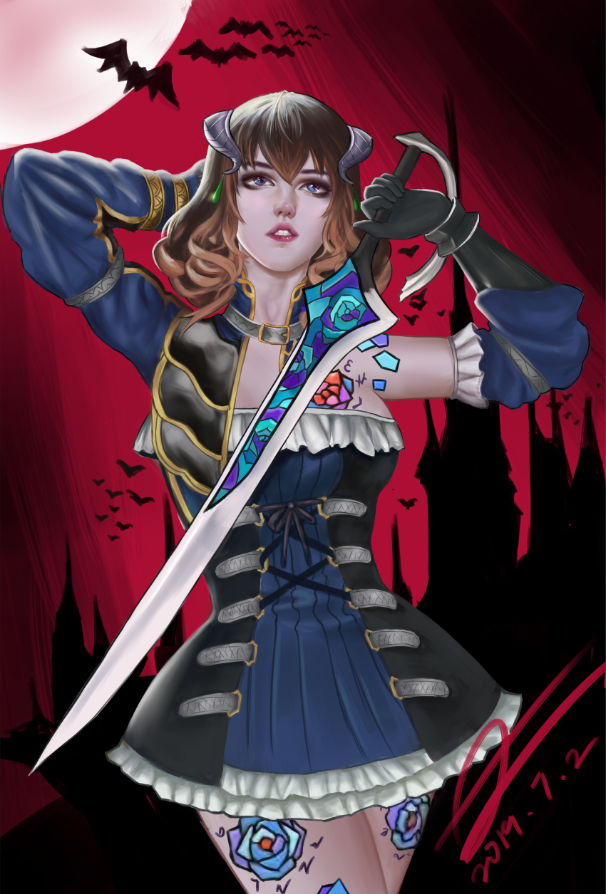 bloodstained night the doppelganger of ritual My hero academia